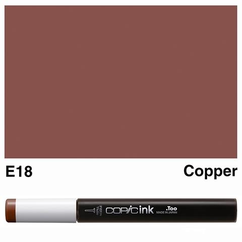 Picture of Copic Ink E18 - Copper 12ml