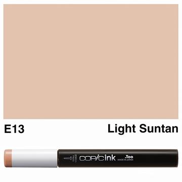 Picture of Copic Ink E13 - Light Suntan 12ml