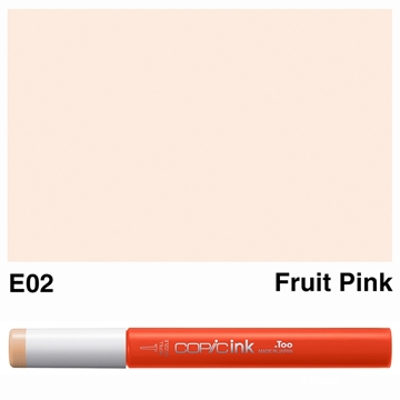 Picture of Copic Ink E02 - Fruit Pink 12ml