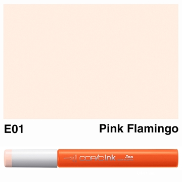 Picture of Copic Ink E01 - Pink Flamingo 12ml