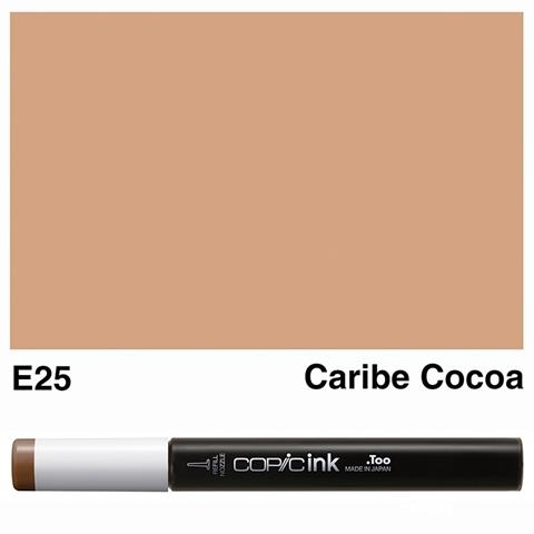 Picture of Copic Ink E25 - Caribe Cocoa 12ml