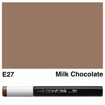 Picture of Copic Ink E27 - Milk Chocolate 12ml