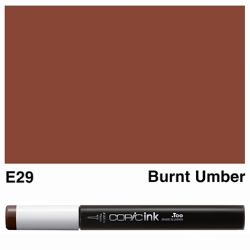 Picture of Copic Ink E29 - Burnt Umber 12ml