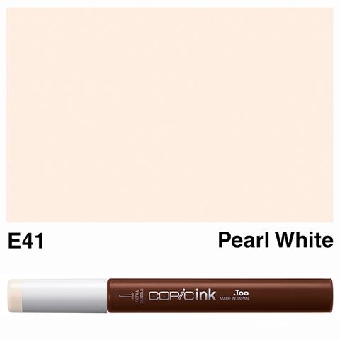 Picture of Copic Ink E41 - Pearl White 12ml