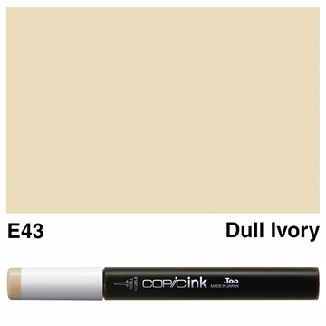 Picture of Copic Ink E43 - Dull Ivory 12ml