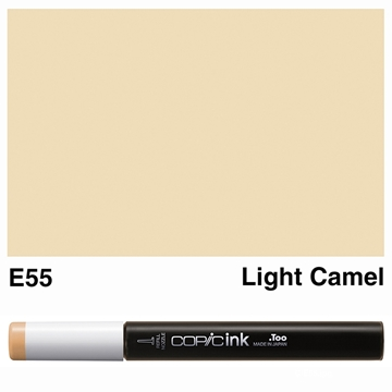 Picture of Copic Ink E55 - Light Camel 12ml