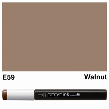Picture of Copic Ink E59 - Walnut 12ml