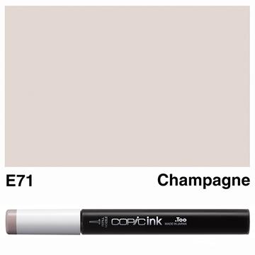 Picture of Copic Ink E71 - Champagne 12ml