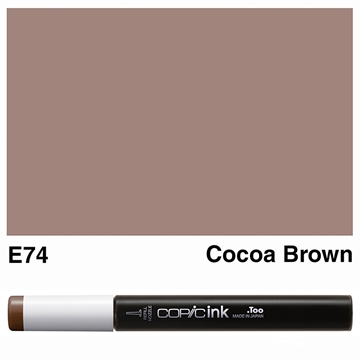 Picture of Copic Ink E74 - Cocoa Brown 12ml