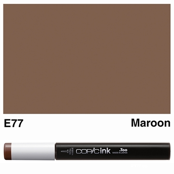 Picture of Copic Ink E77 - Maroon 12ml
