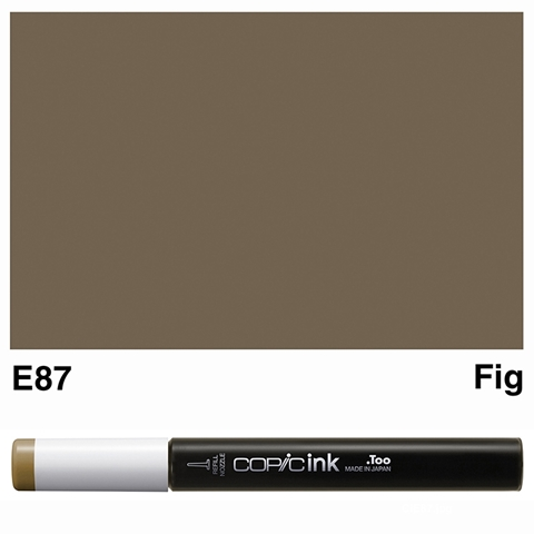 Picture of Copic Ink E87 - Fig 12ml