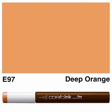 Picture of Copic Ink E97 - Deep Orange 12ml