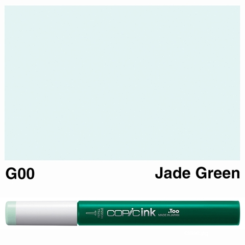 Picture of Copic Ink G00 - Jade Green 12ml