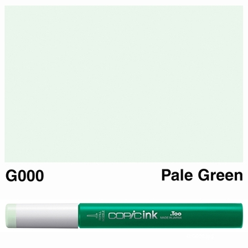 Picture of Copic Ink G000 - Pale Green 12ml