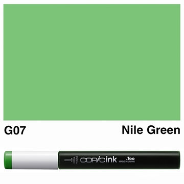 Picture of Copic Ink G07 - Nile Green 12ml