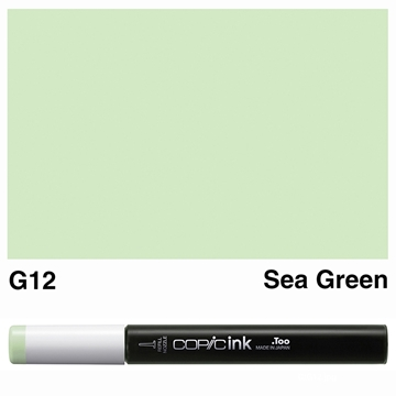 Picture of Copic Ink G12 - Sea Green 12ml