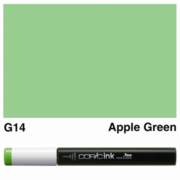 Picture of Copic Ink G14 - Apple Green 12ml