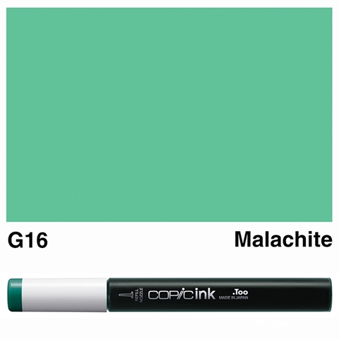 Picture of Copic Ink G16 - Malachite 12ml