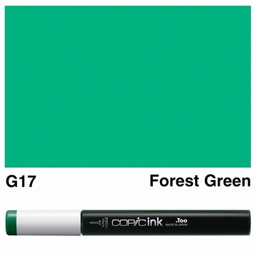 Picture of Copic Ink G17 - Forest Green 12ml