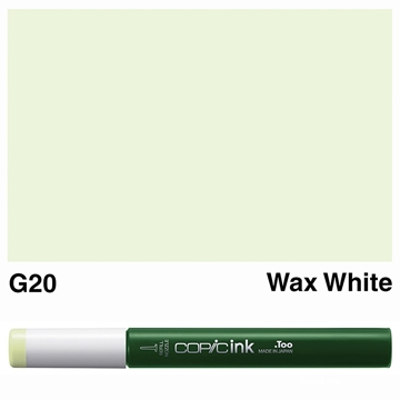 Picture of Copic Ink G20 - Wax White 12ml