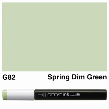 Picture of Copic Ink G82 - Spring Dim Green 12ml