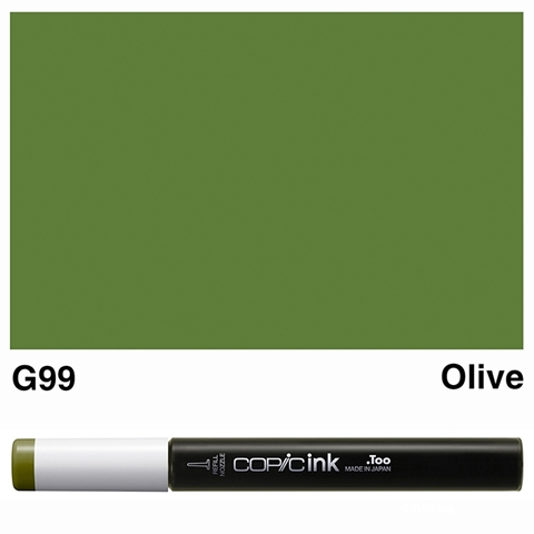 Picture of Copic Ink G99 - Olive 12ml