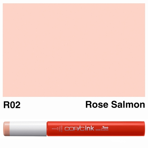 Picture of Copic Ink R02 - Rose Salmon 12ml