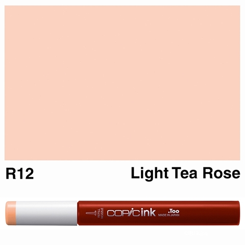 Picture of Copic Ink R12 - Light Tea Rose 12ml