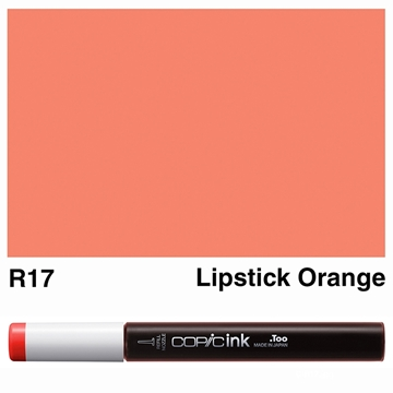 Picture of Copic Ink R17 - Lipstick Orange 12ml