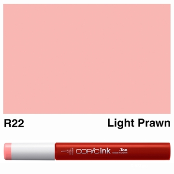 Picture of Copic Ink R22 - Light Prawn 12ml