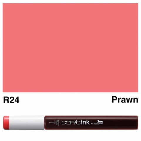 Picture of Copic Ink R24 - Prawn 12ml
