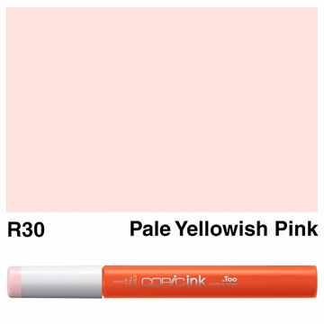 Picture of Copic Ink R30 - Pale Yellowish Pink 12ml