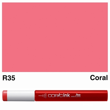 Picture of Copic Ink R35 - Coral 12ml