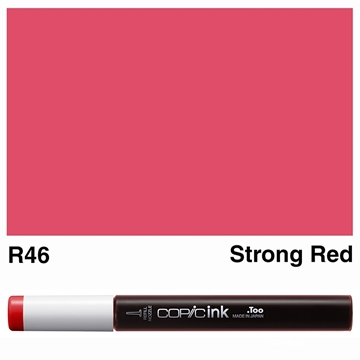 Picture of Copic Ink R46 - Strong Red 12ml
