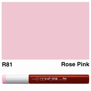 Picture of Copic Ink R81 - Rose Pink 12ml