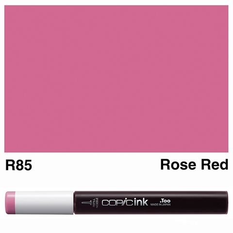 Picture of Copic Ink R85 - Rose Red 12ml