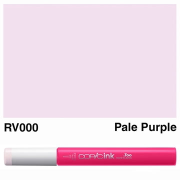 Picture of Copic Ink RV000 - Pale Purple 12ml