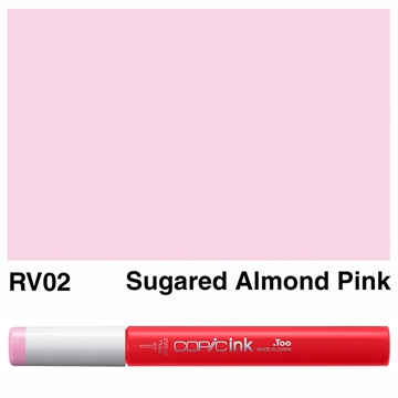 Picture of Copic Ink RV02 - Sugared Almond Pink 12ml