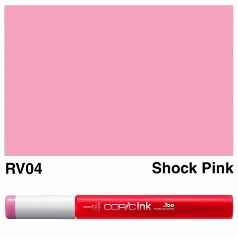 Picture of Copic Ink RV04 - Shock Pink 12ml