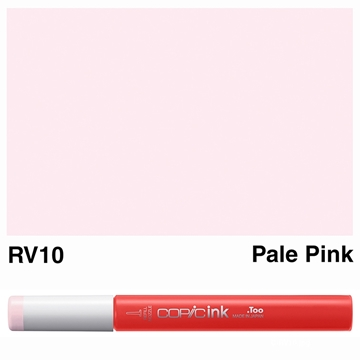 Picture of Copic Ink RV10 - Pale Pink 12ml