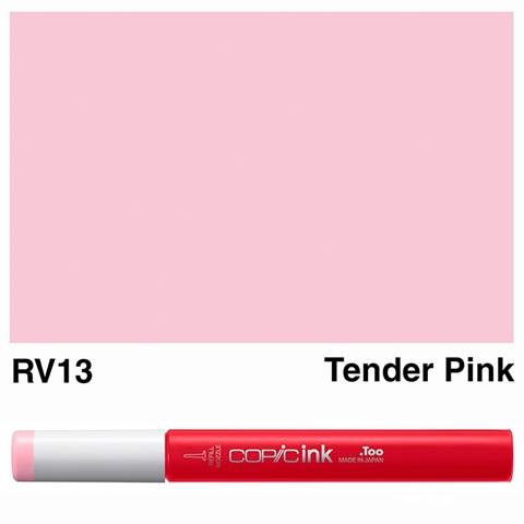 Picture of Copic Ink RV13 - Tender Pink 12ml