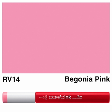 Picture of Copic Ink RV14 - Begonia Pink 12ml