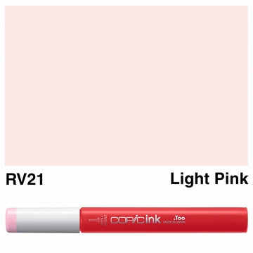 Picture of Copic Ink RV21 - Light Pink 12ml