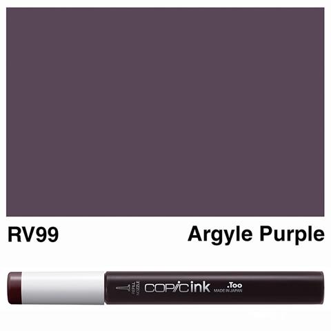 Picture of Copic Ink RV99 - Argyle Purple 12ml