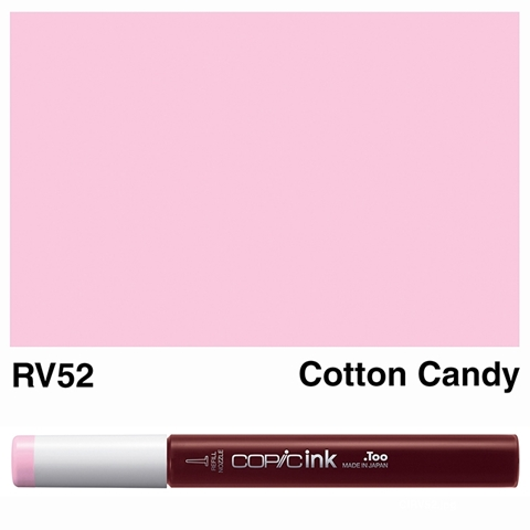Picture of Copic Ink RV52 - Cotton Candy 12ml