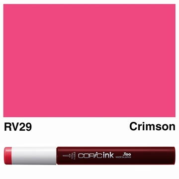 Picture of Copic Ink RV29 - Crimson 12ml