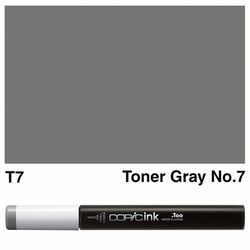 Picture of Copic Ink T7 - Toner Gray No.7 12ml