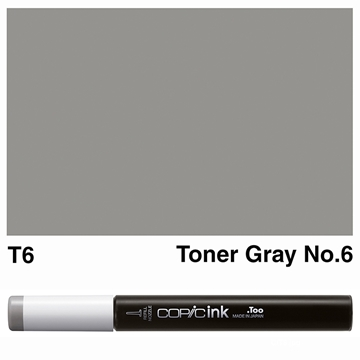 Picture of Copic Ink T6 - Toner Gray No.6 12ml