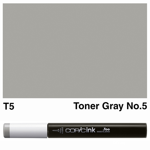 Picture of Copic Ink T5 - Toner Gray No.5 12ml