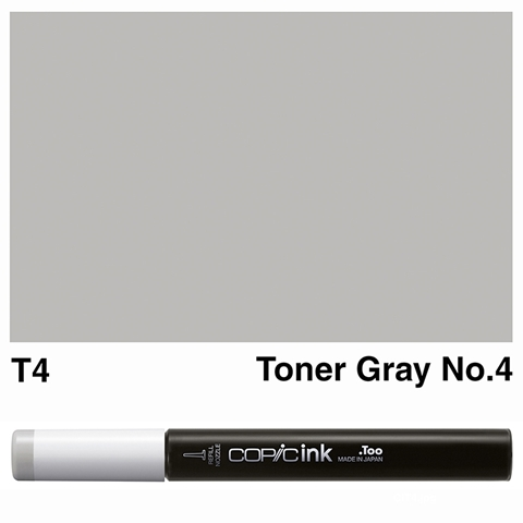 Picture of Copic Ink T4 - Toner Gray No.4 12ml